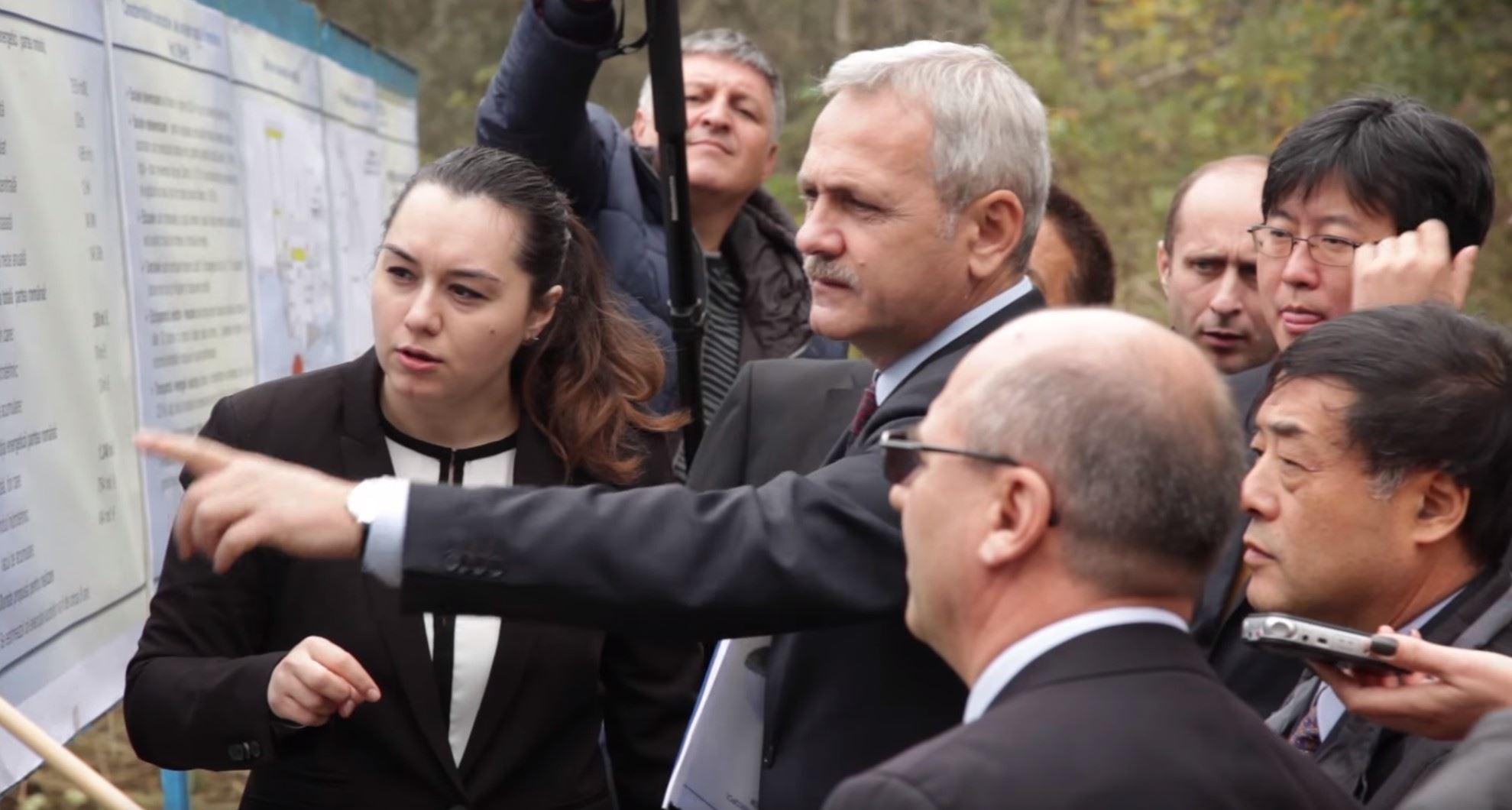 Liviu Dragnea, Adrian Gadea pe drumul lui Ceausescu, langa Insula Belina, 2014